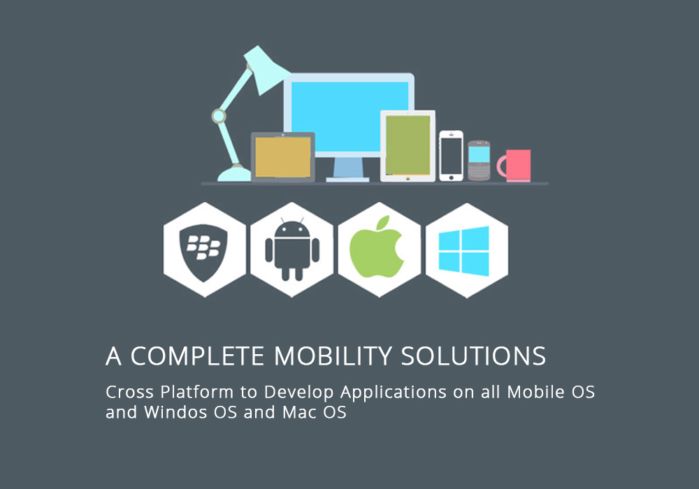 A Complete Mobility Solutions Lamitrix. Lamitrix Cross Platform to Develop Applications on all Mobile OS and Windos OS and Mac OS